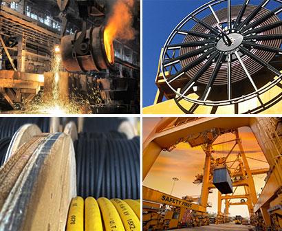 Panzerflex NSHTOU-J cables for steel plants (reeling cables)