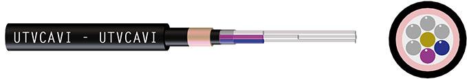 Cavo Festoonfiberflex,in fibra ottica installato su linee a festone